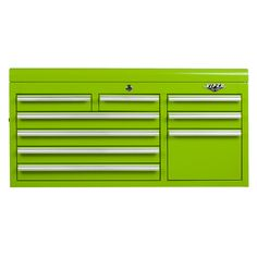 The Original Pink Box – 41-Inch Lime 9 Drawer Top Chest