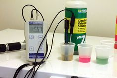 Important for Homebrew: adjustment of pH!!! This is what I need for my first real Homebrew!