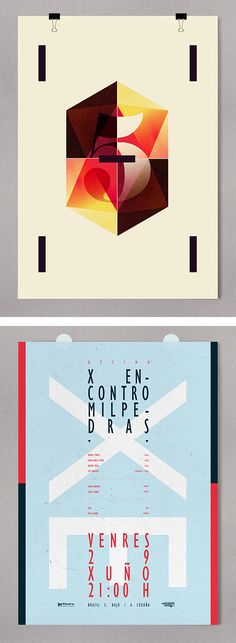 by Alberto Carballido, via graphic design layout, identity systems and great type lock-ups.
