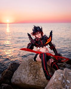Ryuko Matoi fourth shot by Sandman-AC.deviantart.com on @deviantART