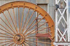 Headframe Sheave Wheel by rolandkunz
