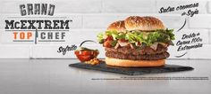 McDonald's Offers New Top Chef Burger in Spain