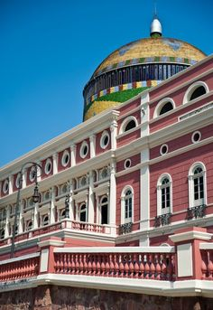 (Theater) Teatro Amazonas - Manaus, State of Amazonas, Brazil. Photo by Duda Arraes.