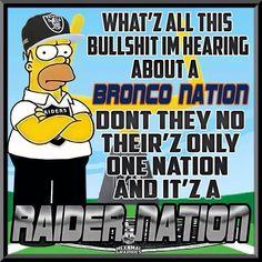 Broncos Memes, Football Memes, Raiders Baby, Raiders Vs, Oakland Raiders Wallpapers, Raiders Stuff, Oakland Raiders Football, Nfl Logo, Raider Nation