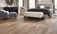 Find out what the best type of luxury vinyl plank flooring is available, and how it differentiates from lower quality plank vinyl.