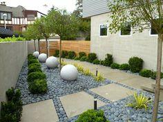 decoracion jardienes con piedras
