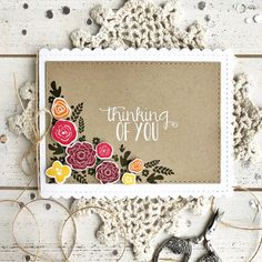 papertrey ink - throwback thursday: mini blooms stamp set