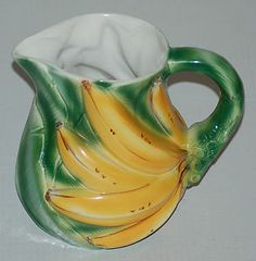 Ancora Banana Pitcher ~ Made in Italy