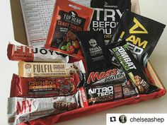 The February box in all its glory! Thanks for the pic @chelseashep, hoping to wow you again this month 😉 ・・・ @rippedkit have smashed it this month 😱 top marks on The February Box 👌🏼👌🏼
