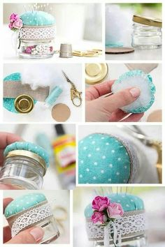Diy, sewing and crafts sewing kit, sewing hacks, sewing projects, Diy And Crafts Sewing, Crafts For Girls, Crafts To Sell, Diy Crafts Videos, Craft Tutorials, Craft Projects, Sewing Projects, Diy Y Manualidades, Craft Wedding