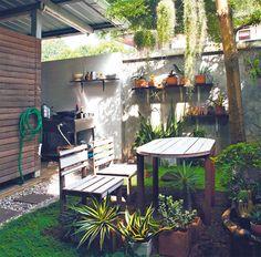 ครัวไทย ในสวนหลังบ้าน