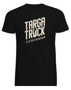 Mark Bovey is raising funds for Team Targa Truck. The first truck in Targa Newfoundland on Kickstarter! We have created cool stuff to get you excited & involved with the first truck in Targa Newfoundland. Go Targa Truck! Trucks, Logo, Tees, Mens Tops, Logos, T Shirts, Tee Shirts, Track, Truck