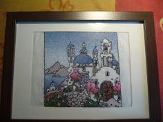 My sister's birthday, Greek village-Michael Powel sample