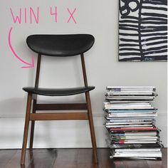 Win four of these scandinavian style chairs - Armoire Pegs & Casserole Giveaway Living Room Inspiration, My Dream Home, Furniture Design, Dining Chairs, Lounge, House Design, Scandinavian Style, Big People, Armoire