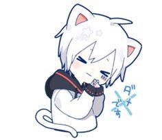 kobayashi-san chi no maid dragon elma chibi stiquer Chibi Cat, Cute Anime Chibi, Kawaii Chibi, Cute Anime Boy, Anime Neko, Kawaii Anime Girl, Anime Stickers, Kawaii Stickers, Yandere