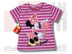 Veselé dievčenské tričko Minnie Mouse od Disney ..
