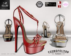 @ Cosmopolitan Exclusive http://maps.secondlife.com/secondlife/No%20Comment/130/28/23 available in 10 colors or Fatpack