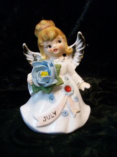 July Birthday Angel Numbered by MaralynsCollectibles on Etsy