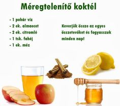 Emlékezetes Facebook képek 5 Healthy Drinks, Healthy Tips, Healthy Recipes, Health Eating, Detox Tea, Clean Eating Recipes, Food Hacks, Smoothie Recipes, Healthy Lifestyle