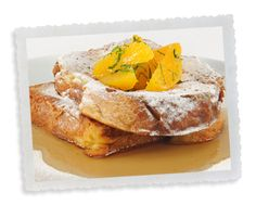 Brunch - Maker's Mark French Toast (serve with Naughty Sauce from their pancake recipe)