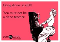 How true this is and how appreciative we are for our teachers! #piano #teach #lesson