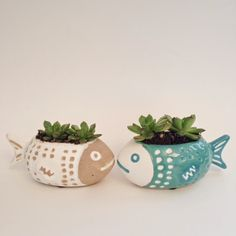 Mother's Day Gift Guide Succulents, fish planter, Anthropologie
