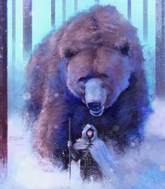 Giant Bear by Frankie Perezar