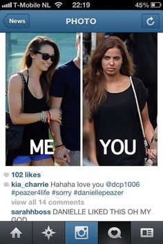 Danielle liked this on Instagram. Wut.