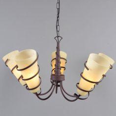 Kroonluchter Chateau 5 antiek - Hanglampen - Binnenverlichting - Lampenlicht.nl - 138 EUR