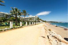 A beautiful ground floor apartment for sale frontline beach on the Golden Mile http://bablomarbella.com/en/listing/spain/costa-del-sol/puerto-banus/apartment/159/