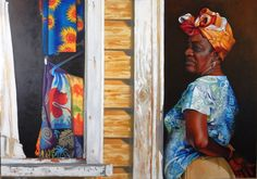 Souvenirs d'Antigua, huile sur toile 49x69 Pastel Gras, Kimono Top, Creations, Shoulder Dress, Women, Fashion, Antigua, Oil On Canvas, Canvases