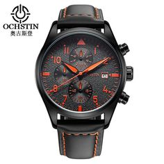 Men Watch Mens Brand Luxury Sport Quartz Watch Relogio dos homens Dermis fashion small three-pin clock Chronograph watch 2016
