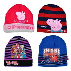 eec8127aa19 Aliexpress.com   Buy 10pcs lot Girl s Hats Children Winter Hats Acrylic  Cartoon Hats with lining inside Children Beanies 4 styles for Choose from  Reliable ...