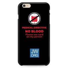 Medical Directive No Blood Please  see card on my person JW.ORG