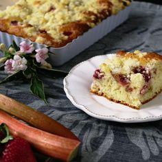 Jahodovo-rebarborový koláč se zázvorem   Coolinářka French Toast, Breakfast, Food, Morning Coffee, Essen, Meals, Yemek, Eten