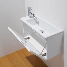 8 Contemporary bathroom vanity designs you can DIY vanities DIY Contemporary Bathroom Furniture, Modern Bathroom Decor, Small Bathroom, Bathroom Toilets, Bathroom Vanity Designs, Modern Bathroom Design, Bathroom Vanities, Lave Main Design, Tiny Bath