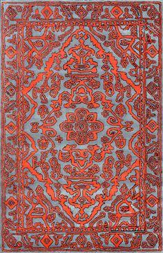 Rugs USA Epiphany EU02 Red Rug