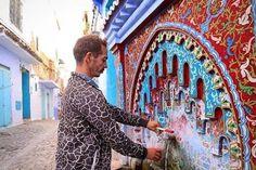 When history and art become a vital part of life. This vibrant shot was taken in Morocco Chefchaouene. #LiveForTheStory #CanonME عندما يصبح التاريخ والفن جزءا لا يتجزء من الحياة هذه اللقطة الخيالية من المغرب شيفشاون via Canon on Instagram - #photographer #photography #photo #instapic #instagram #photofreak #photolover #nikon #canon #leica #hasselblad #polaroid #shutterbug #camera #dslr #visualarts #inspiration #artistic #creative #creativity