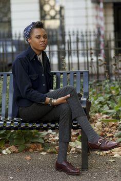 On the Street…Cross-Inspirational, London « The Sartorialist
