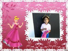 marco princesa rosa sobre Pixiz