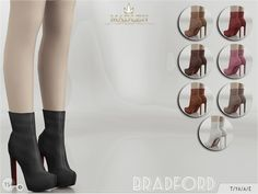 Madlen Bradford Boots New boots for your sim! Simple yet classy! Come in 8 colours (suede texture). You cannot change the mesh, but feel free to recolour it as long as you add original link in the description. If you can't see this creation in CAS,...