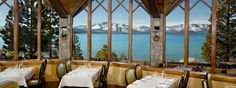 Edgewood Lake Tahoe restaurant. Great reviews for an upscale romantic dinner with a view. http://visit-eldorado.com/