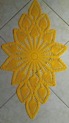 Handmade crochet doily square Size - * inches * 40 cm) Material - cotton Color - yellow (color Please pick the color for doily. Color samples can be seen in the photo. Oval crochet doily, new hand c 371 Likes, 1 Comments - Örgü. This Pin was discovered Crochet Gloves Pattern, Crochet Doily Diagram, Crochet Doily Patterns, Filet Crochet, Thread Crochet, Crochet Motif, Crochet Doilies, Hand Crochet, Crochet Lace