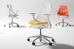 SAYL CHAIR - HERMAN MILLER - http://www.hermanmiller.com/products/seating/performance-work-chairs/sayl-chairs.html