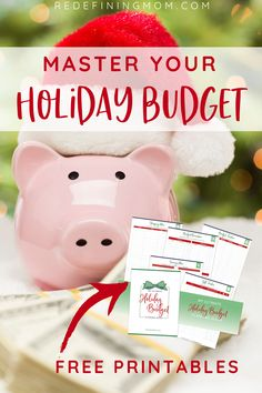 Enter your name and email for instant access. WOW! I am so glad I found these free printable holiday budget planning sheets! I'm finally on track with my spending this holiday season. This printable holiday budget planner helped me organize my finances, create gift lists, and save on Black Friday. #planner #holidayplanner
