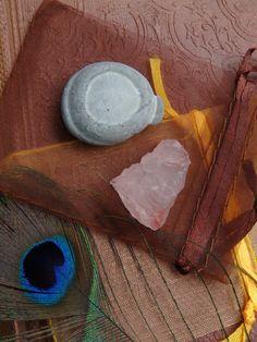 Crystal Set! SMALL PINK NIRVANA ICE QUARTZ & MINI FAIRY STONE SET  AVAILABLE!
