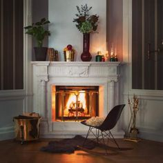 All you need for a successful renovation of old houses. Welcome to our DIY shop of period style home and hardware products! Swedish Interiors, Fireplace Mantle, Furniture Arrangement, Old Houses, Living Room Designs, New Homes, Interior Design, House Styles, Home Decor