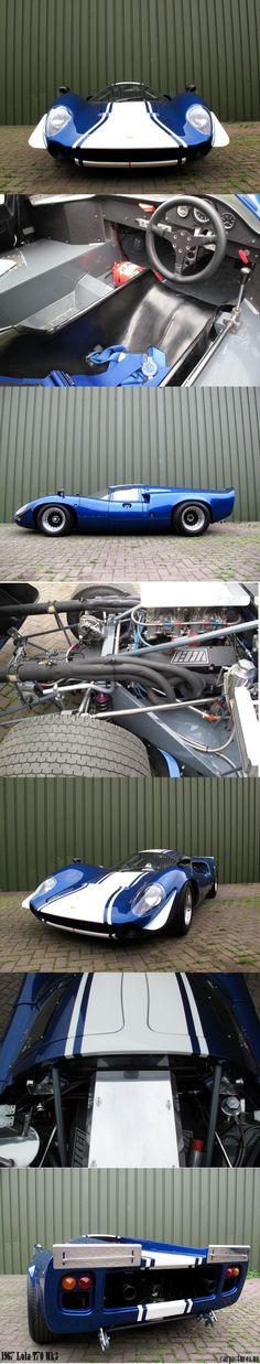 1967 Lola T70 Mk3 Racing Car
