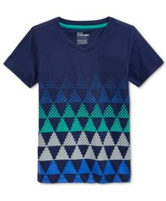Epic Threads Little Boys' Ethan Stripe Graphic-Print T-Shirt, Only at Macy's