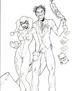 Batman Arkham City Joker Coloring Pages